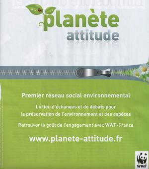 Planète Attitude, le réseau social du WWF