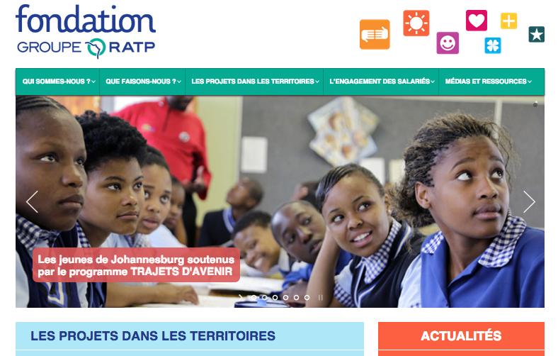 site fondation ratp