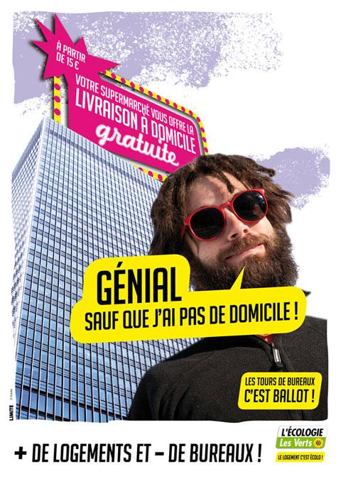 Signez la pétition des verts pour moins de bureaux, plus de logements à Paris !