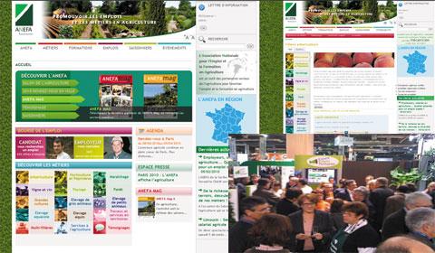 Le nouveau site de l'ANEFA présenté au Salon de l'agriculture