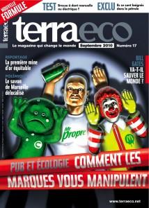 Dans Terra Eco de cette rentrée 2010, un dossier greenwashing très complet