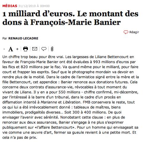 François Marie Banier