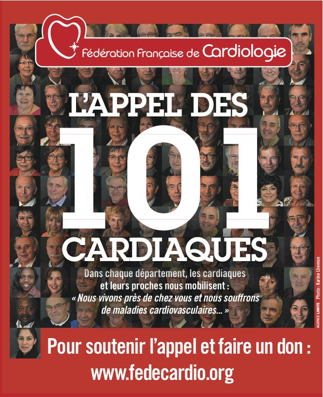 101 cardiaques ont acceptés d'être photographiés pour lancer un appel à soutenir la lutte contre les maladies cardio-vasculaires