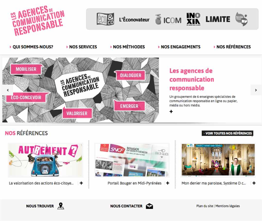 Capture Site Agences de communication responsable
